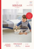 Sirdar Snuggly Heirlooom DK Knitting Pattern Booklet - 5329 Sweater & Blanket